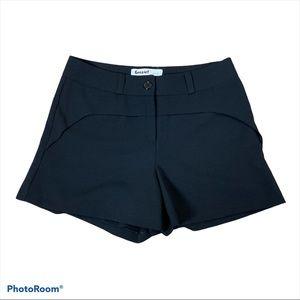 Black Dressy High Rise Shorts